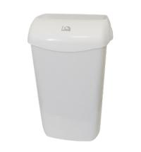Ведро для мусора Lime с держателем мешка, 11л, белое, 974110