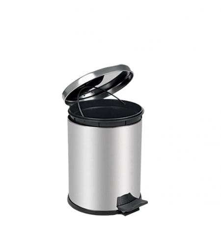 фото: Ведро для мусора с педалью Lime Crom металлик, 5л, A 55000