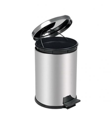 фото: Ведро для мусора с педалью Lime Crom металлик, 16л, A 55016