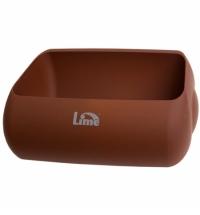 Держатель для мешка Lime Color для корзины 23л, коричневый, A 74401MAS