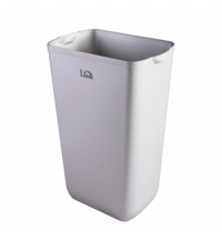 Ведро для мусора Lime Satin 23л серое, А 74201SATS