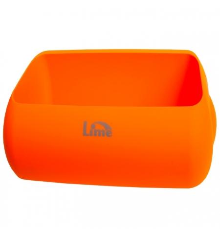фото: Держатель для мешка Lime Color для корзины 23л, оранжевый, A 74401ARS