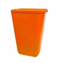 Ведро для мусора Lime Color 23л, оранжевое, A 74201AR