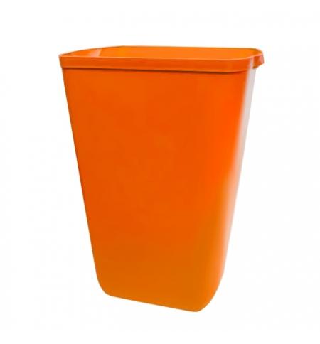 фото: Ведро для мусора Lime Color 23л, оранжевое, A 74201AR