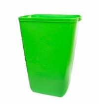 Ведро для мусора Lime Color 23л, зеленое, A 74201VE