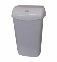 Ведро для мусора Lime серое с держателем мешка, 23л, 974231