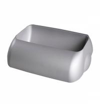 Держатель для мешка Lime Satin серый 9х22.5х33.5см, для корзины 23л, А 74401SAT