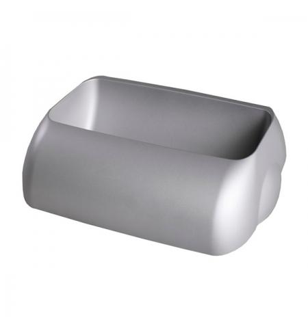 фото: Держатель для мешка Lime Satin серый 9х22.5х33.5см, для корзины 23л, А 74401SAT