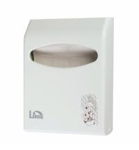 Диспенсер для индивидуальных покрытий на унитаз Lime Prestige mini белый, A 66201S