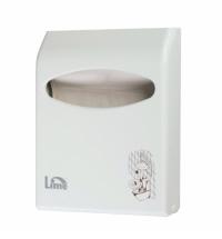 Диспенсер для индивидуальных покрытий на унитаз Lime Color mini белый, A 66210BIS