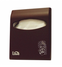 фото: Диспенсер для индивидуальных покрытий на унитаз Lime Color mini коричневый, A 66210MAS