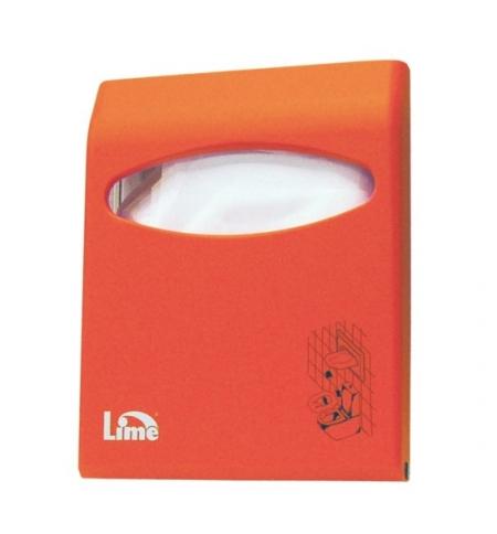 фото: Диспенсер для индивидуальных покрытий на унитаз Lime Color mini оранжевый, A 66210ARS