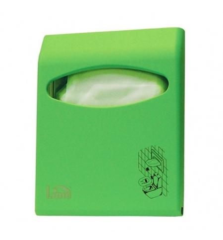 фото: Диспенсер для индивидуальных покрытий на унитаз Lime Color mini зеленый, A 66210VES