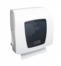 фото: Диспенсер для полотенец в рулонах Lime Matic белый mini, HF106