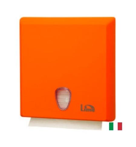фото: Диспенсер для полотенец листовых Lime оранжевый maxi, Z  укладка, A70610EAS