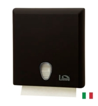 фото: Диспенсер для полотенец листовых Lime черный maxi, Z  укладка, A70610ENS