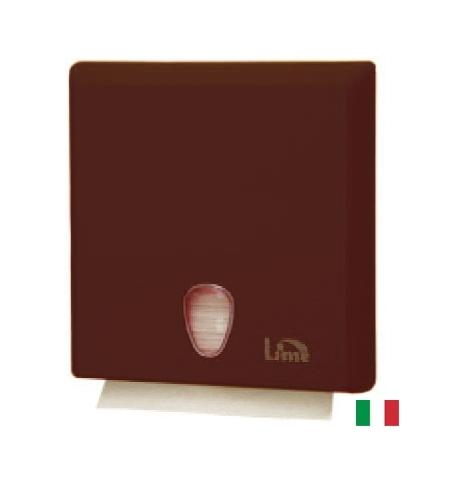 фото: Диспенсер для полотенец листовых Lime коричневый maxi, Z  укладка, A70610EMS