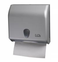 фото: Диспенсер для полотенец листовых Lime серебристый mini, V укладка, A69511SATS