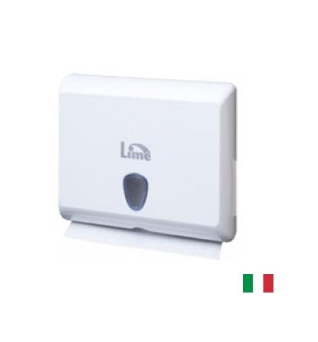 фото: Диспенсер для полотенец листовых Lime белый mini, Z  укладка, A83801S