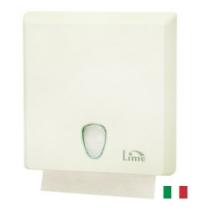 фото: Диспенсер для полотенец листовых Lime белый maxi, Z  укладка, A70610EBS