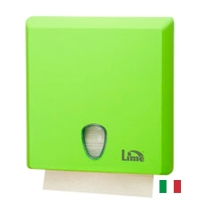 фото: Диспенсер для полотенец листовых Lime зеленый maxi, Z  укладка, A70610EVS