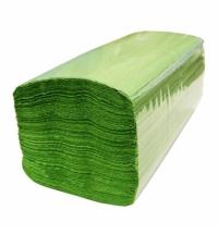 Бумажные полотенца Lime эконом листовые фисташковые, V укладка, 250шт, 1 слой, 210850