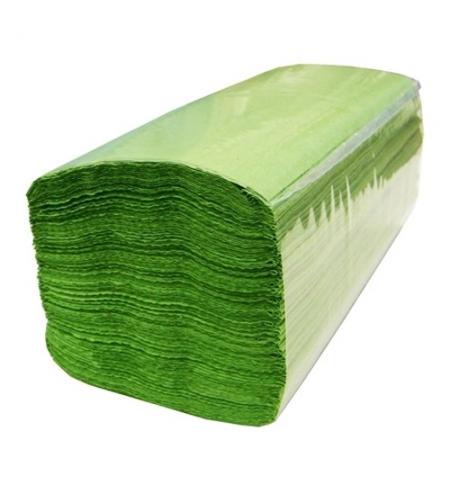 фото: Бумажные полотенца Lime эконом листовые фисташковые, V укладка, 250шт, 1 слой, 210850