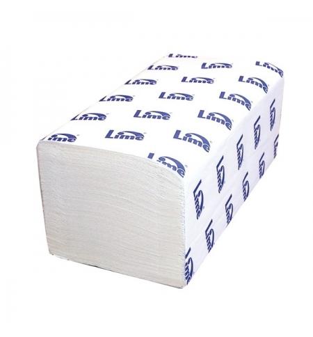 фото: Бумажные полотенца Lime комфорт листовые белые, V укладка, 200шт, 2 слоя, 290200