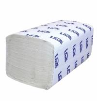 Бумажные полотенца Lime эконом листовые светло-серые, V укладка, 200шт, 2 слоя, 240200