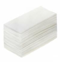 Бумажные полотенца Lime листовые белые, V укладка, 200шт, 2 слоя, 120200