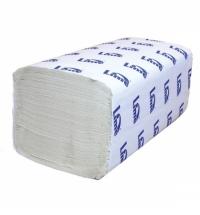 фото: Бумажные полотенца Lime листовые белые, V укладка, 180шт, 1 слой, 261254