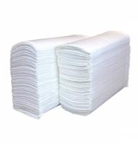 фото: Бумажные полотенца Lime эконом листовые белые, Z укладка, 250шт, 1 слой, 215250