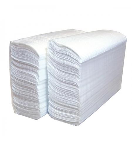 фото: Бумажные полотенца Lime комфорт листовые белые, Z укладка, 180шт, 2 слоя, 290180