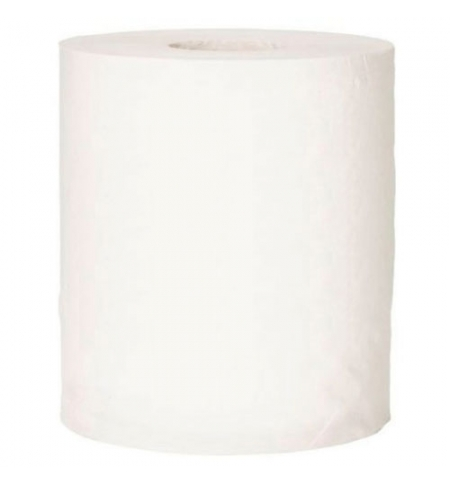 фото: Бумажные полотенца Lime эконом в рулоне белые, 200м, 1 слой, 520200