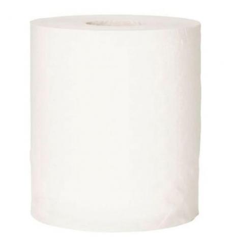 фото: Бумажные полотенца Lime комфорт в рулоне белые, 170м, 2 слоя, 193052