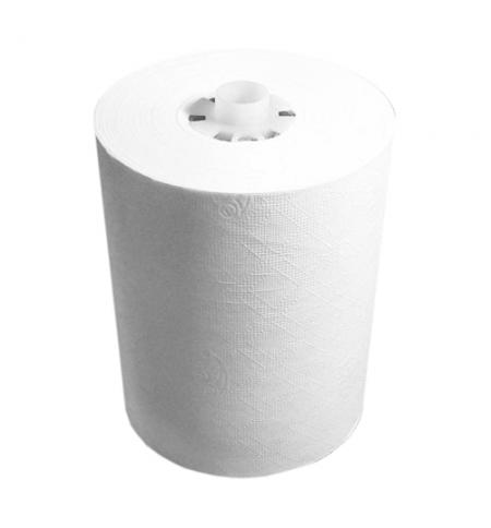 фото: Бумажные полотенца Lime эконом в рулоне светло-серые, 110м, 2 слоя, 540110