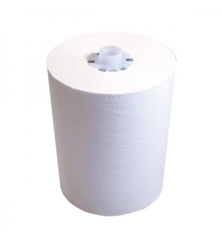 фото: Бумажные полотенца Lime комфорт в рулоне белые, 180м, 1 слой, 520180