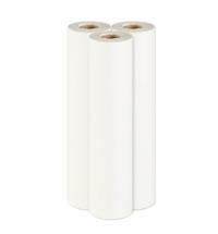 Бумажные простыни Lime белые, 1 слой, 100м х 50см, 55.100