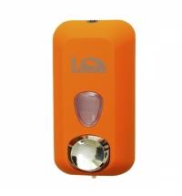 фото: Диспенсер для мыла в картриджах Lime Color оранжевый, 500мл, A 71501ARS