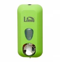 фото: Диспенсер для мыла в картриджах Lime Color зеленый, 500мл, A 71501VES