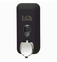 фото: Диспенсер для мыла в картриджах Lime Color черный, 500мл, A 71601NES