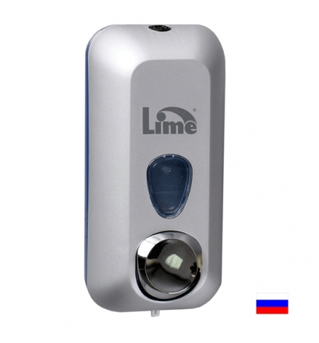 фото: Диспенсер для мыла наливной Lime серый 600мл, 971001
