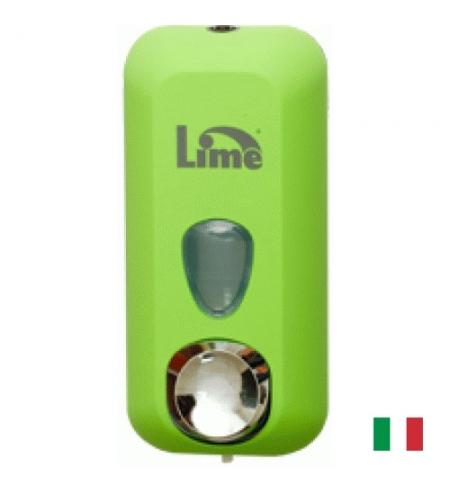 фото: Диспенсер для мыла наливной Lime Color зеленый, 550мл, A 71401VES