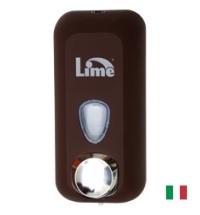 фото: Диспенсер для мыла наливной Lime Color коричневый, 550мл, A 71401MAS
