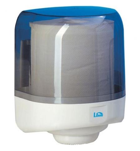 фото: Диспенсер для полотенец с центральной вытяжкой Lime прозрачный maxi, с дозатором, A58161S