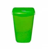 Контейнер для мусора подвесной Lime 11л, зеленый, с держателем мешка, 974114