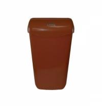 Контейнер для мусора подвесной Lime 11л, коричневый, с держателем мешка, 974115