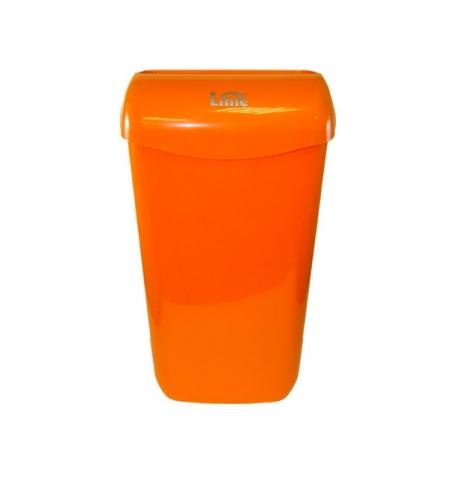 фото: Контейнер для мусора подвесной Lime 11л, оранжевый, с держателем мешка, 974113