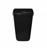 Контейнер для мусора подвесной Lime 11л, черный, с держателем мешка, 974112