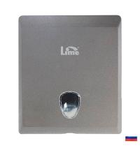 Диспенсер для полотенец листовых Lime Prestige серый, maxi, Z  укладка, 927001